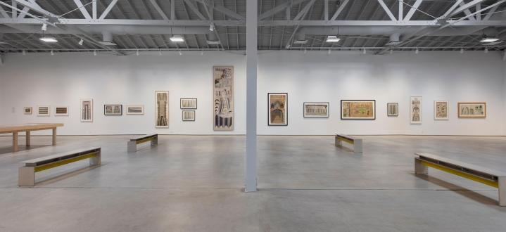 Martin Ramirez. Photo Courtesy of the Institute of Contemporary Art Los Angeles. Photo Credit Brian Forrest.