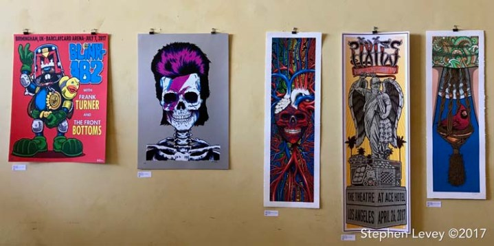 Sean Cliver. Brewery Artwalk and Open Studios Fall 2017. Photo Credit Stephen Levey