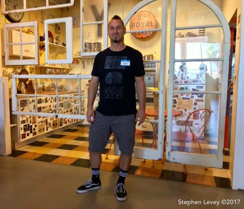 Dave Lefner. Brewery Artwalk and Open Studios Fall 2017. Photo Credit Stephen Levey