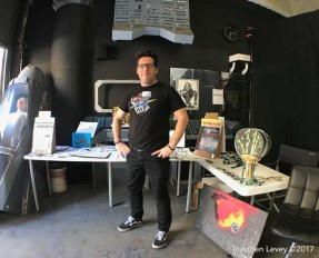 Aaron Farmer. Brewery Artwalk and Open Studios Fall 2017. Photo Credit Stephen Levey
