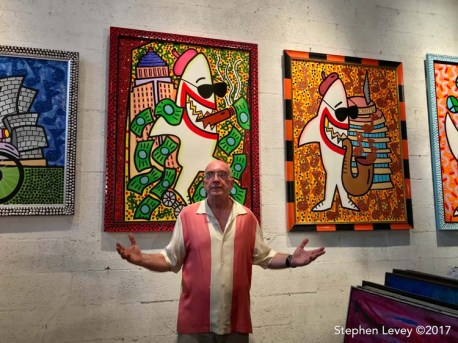 Andre Miripolsky. Brewery Artwalk and Open Studios Fall 2017. Photo Credit Stephen Levey
