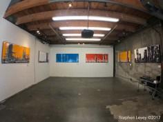 Samuel Kopels. Brewery Artwalk and Open Studios Fall 2017. Photo Credit Stephen Levey