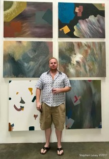 Eric Wahl. Brewery Artwalk and Open Studios Fall 2017. Photo Credit Stephen Levey