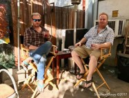 Matthew Robinson and Wric Wahl. Brewery Artwalk and Open Studios Fall 2017. Photo Credit Stephen Levey