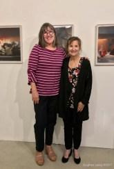 Lorraine Heitzman and Heather Lowe. Keystone Open Studio - Fall 2017. Photo Credit Stephen Levey