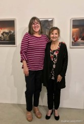 Lorraine Heitzman and Heather Lowe. Keystone Open Studio - Fall 2017. Photo Credit Stephen Levey