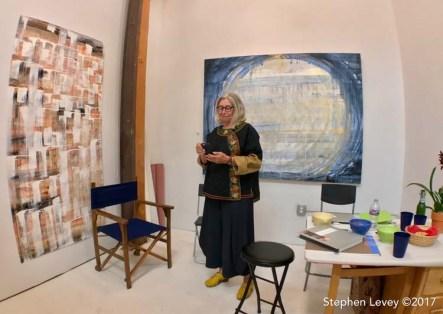 Lea Feinstein. Keystone Open Studio - Fall 2017. Photo Credit Stephen Levey