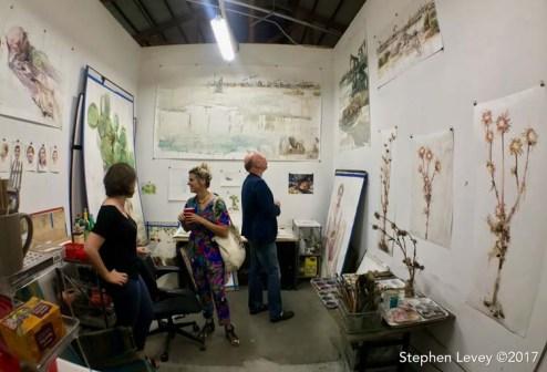 Molly Segal. Keystone Open Studio - Fall 2017. Photo Credit Stephen Levey