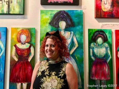 Kristine Augustyn. Brewery Artwalk and Open Studios Fall 2017. Photo Credit Stephen Levey