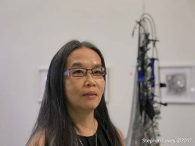 Chenhung Chen. Brewery Artwalk and Open Studios Fall 2017. Photo Credit Stephen Levey