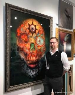 Burton Gray. Brewery Artwalk and Open Studios Fall 2017. Photo Credit Stephen Levey