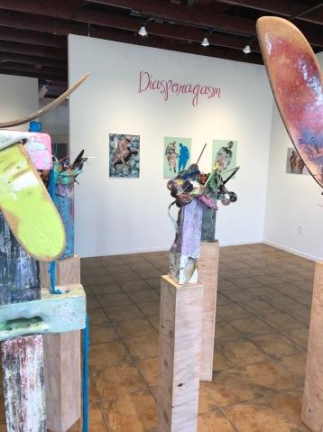Diasporagasm at SBC SoLA Gallery. Photo Credit Genie Davis.