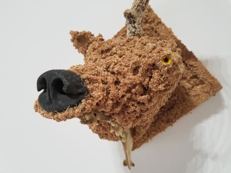 Jared Pankin Broken Horn. Conceptual Craft at DENK Gallery. Photo Credit Jacqueline Bell Johnson.
