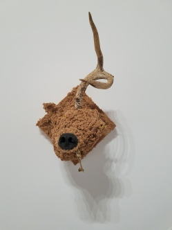 Jared Pankin Broken Horn. Conceptual Craft at DENK Gallery. Photo Credit Jacqueline Bell Johnson.