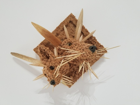 Jared Pankin Star Foxes. Conceptual Craft at DENK Gallery. Photo Credit Jacqueline Bell Johnson.