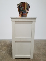 Jeff Colson Blockhouse. Conceptual Craft at DENK Gallery. Photo Credit Jacqueline Bell Johnson.
