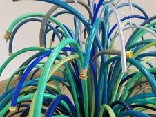 Lynn Aldrich Sprinkler. Conceptual Craft at DENK Gallery. Photo Credit Jacqueline Bell Johnson.