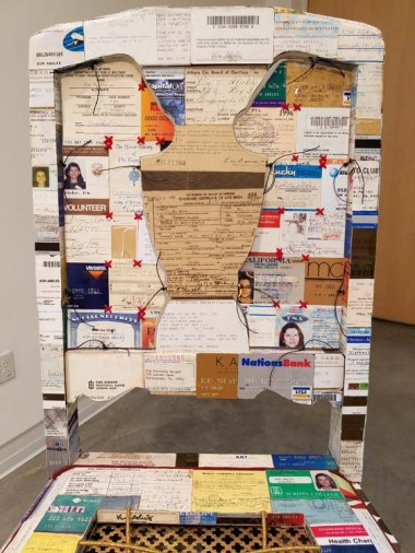 "Kim Abeles: ""ˌterəˈf3:mə."" Orange Coast College. Photo Credit Kristine Schomaker"