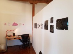 Chris Collins. DTLA Long Beach Ave. Lofts Open Studios. Photo Credit Kristine Schomaker