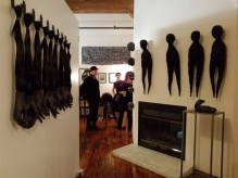 Camilla Taylor. DTLA Long Beach Ave. Lofts Open Studios. Photo Credit Kristine Schomaker