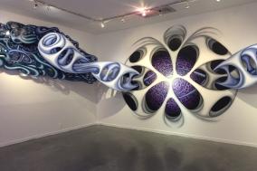 Erika Lizée. Eternally Searching (0,1,1,2,3,5,8,13). Los Angeles Art Association Gallery 825. Photo Credit Panic Studio LA.