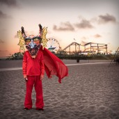 Asfixia (at santa monica pier). Cristobal Valecillos. Yare: One More Dance. Timothy Yarger Fine Art. Photo Courtesy of the Gallery.