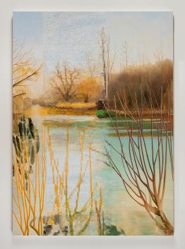 "Astrid Preston, In February, 2017, oil on canvas, 84 x 60"", Courtesy of Astrid Preston and Craig Krull Gallery, Santa Monica, CA."