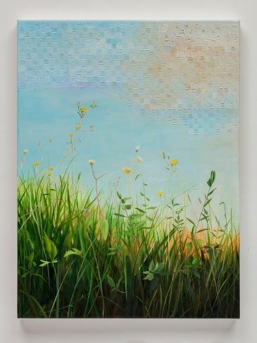 "Astrid Preston, Summer's End, 2016-2017, oil on canvas, 24 x 18"", Courtesy of Astrid Preston and Craig Krull Gallery, Santa Monica, CA."