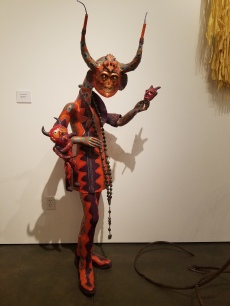 Dee Marcellus Cole. Devil Within Her. Dee Marcellus Cole and Carnival Seekers. Claremont Museum of Art. Photo Credit Jacqueline Bell Johnson.