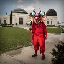 El Dulce (at griffith observatory). Cristobal Valecillos. Yare: One More Dance. Timothy Yarger Fine Art. Photo Courtesy of the Gallery.