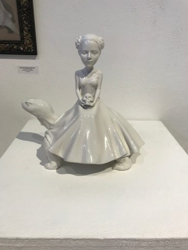 Girls, Girls, Girls: Deirdre Sullivan-Beeman at La Luz de Jesus. Photo Credit Sara Fortson.