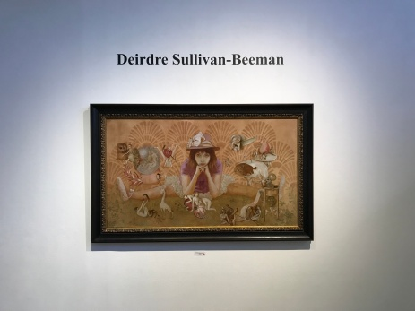 Girls, Girls, Girls: Deirdre Sullivan-Beeman at La Luz de Jesus. Photo Credit Sara Fortson.