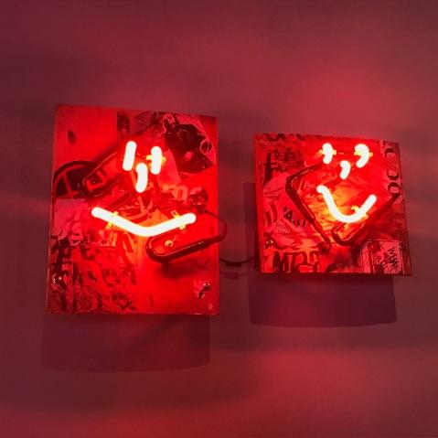 She Bends: Women in Neon. Museum of Neon Art. Photo Credit Genie Davis.