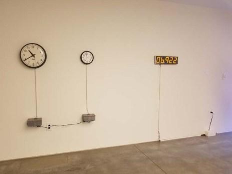 Jim Cambell. ELEMENTAL   Marking Time. Descanso Gardens, Sturt Haaga Gallery. Photo Credit Kristine Schomaker