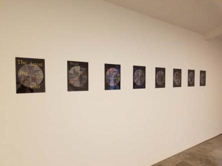 Jody Zellen. ELEMENTAL   Marking Time. Descanso Gardens, Sturt Haaga Gallery. Photo Credit Kristine Schomaker