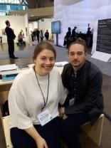 Moskowitz Bayse. Meredith Bayse and Adam Mosokwitz. Art Toronto 2017. Photo Credit Marianne Lepa