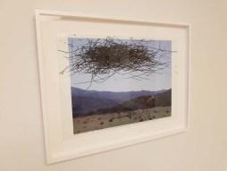Pat Pickett. ELEMENTAL   Marking Time. Descanso Gardens, Sturt Haaga Gallery. Photo Credit Kristine Schomaker