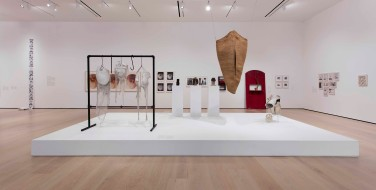 """Radical Women: Latin American Art, 1960-1985, installation view, """"Mapping the Body"""" theme. Hammer Museum, Los Angeles, September 15 - December 31, 2017. Photo: Brian Forrest."""