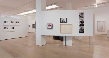"""Radical Women: Latin American Art, 1960-1985, installation view, """"Power of Words"""" theme. Hammer Museum, Los Angeles, September 15 - December 31, 2017. Photo: Brian Forrest."""