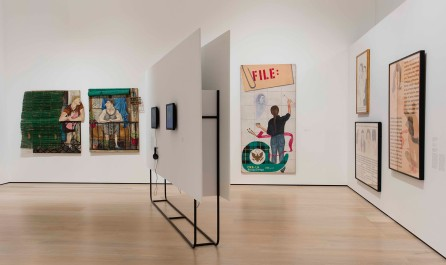 "Radical Women: Latin American Art, 1960-1985, installation view, ""Social Places"" theme. Hammer Museum, Los Angeles, September 15 - December 31, 2017. Photo: Brian Forrest."