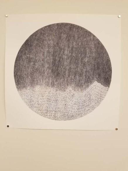 Russell Crotty. ELEMENTAL   Marking Time. Descanso Gardens, Sturt Haaga Gallery. Photo Credit Kristine Schomaker