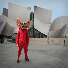 Sangre (at disney hall). Cristobal Valecillos. Yare: One More Dance. Timothy Yarger Fine Art. Photo Courtesy of the Gallery.