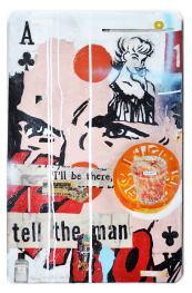 "Greg Miller, ""A"" Club/Tell the man. Photo Courtesy of JoAnne Artman Gallery."