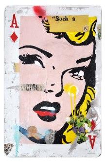 "Greg Miller, ""A"" Diamond/Victory. Photo Courtesy of JoAnne Artman Gallery."