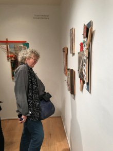 At the opening for Susan Feldman at Launch LA. Photo credit: Genie Davis.