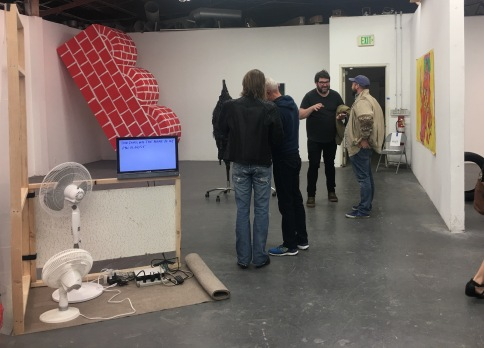 UCLA MFA Open Studios. Photo Credit: Chelsea Boxwell.