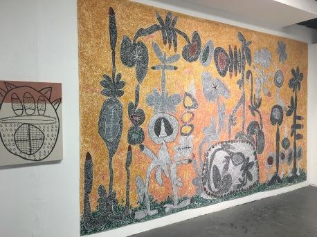 Nasim Hantehzadeh at UCLA MFA Open Studios. Photo Credit: Chelsea Boxwell.