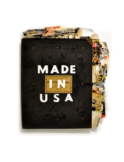Greg Miller, MADE IN USA. Photo Courtesy of JoAnne Artman Gallery.