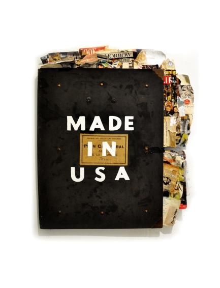 Greg Miller, MADE IN USA. Photo Courtesy of JoAnne Artman Gallery.