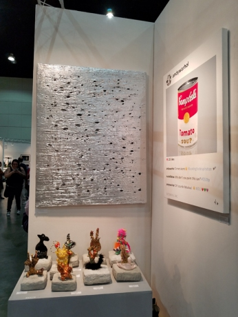 BG Gallery. LA Art Show 2018. Los Angeles Convention Center. Photo Credit Kristine Schomaker